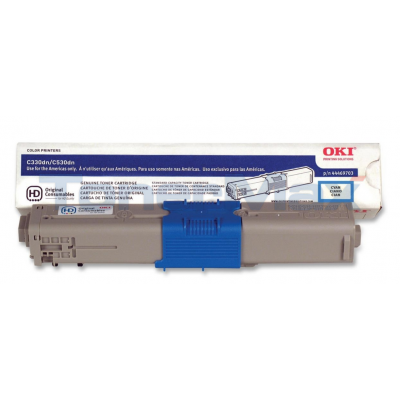 OKI C330DN TONER CARTRIDGE CYAN
